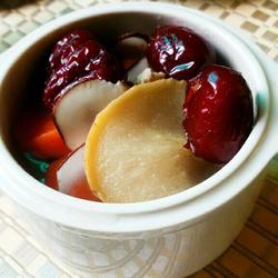 自制配方之夏饮六味润肺汤的做法