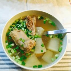 萝卜排骨汤的做法,萝卜炖排骨