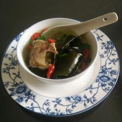海带炖排骨汤的做法,海带排骨汤的做法